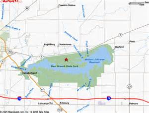 Ohio State Parks Map by West Park Ohio Map Pictures To Pin On Pinterest Pinsdaddy
