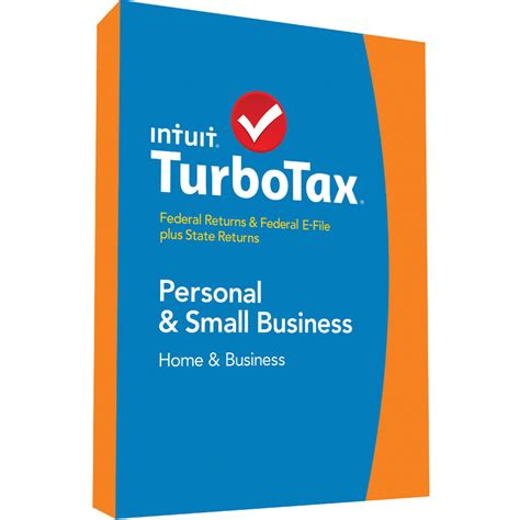 turbotax home business federal e file state 2017 for mac
