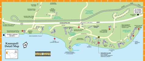 kaanapali resort map accomodations and lorraine
