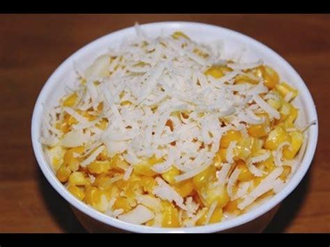 resep   membuat jasuke jagung manis susu keju