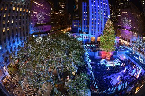 rockefeller center christmas tree lighting 2012 new