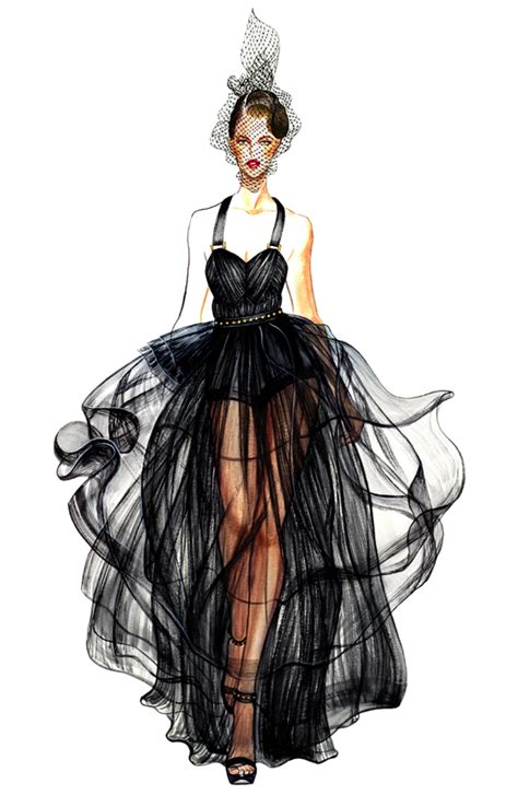 fashion illustration by fashion designers fashion design sketches
