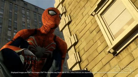 imagenes 4k video juegos first footage of spider man running on ps4 pro ign video