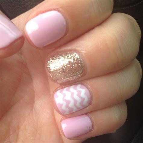 imagenes de uñas pintadas ala francesa u 241 as perfectas brillantes y reforzadas con gelish rosa
