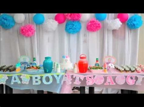 baby gender reveal party cute fun idea nhut uyen