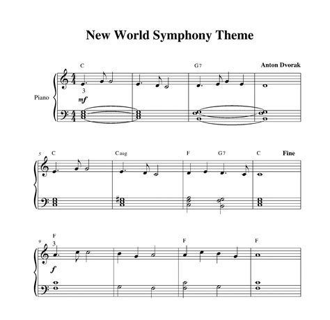 themes from the new world symphony dvorak new world symphony theme