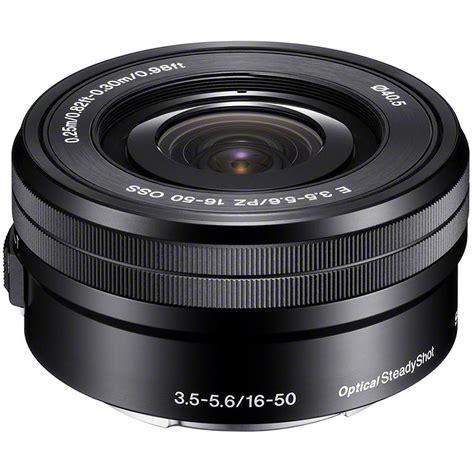 Sony E 16 50mm F3 5 5 6 Pz Oss sony sel p1650 e 16 50mm f3 5 5 6 pz oss obietiivi nero