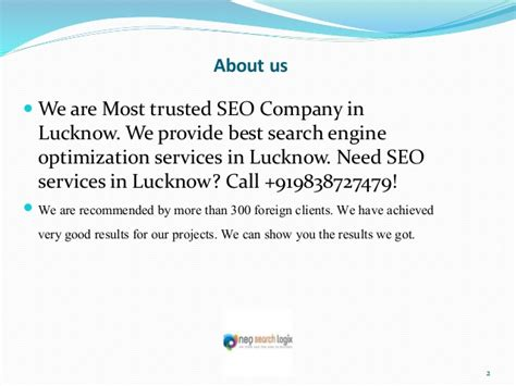 Seo Company 2 by Best Seo Services Company In Lucknow
