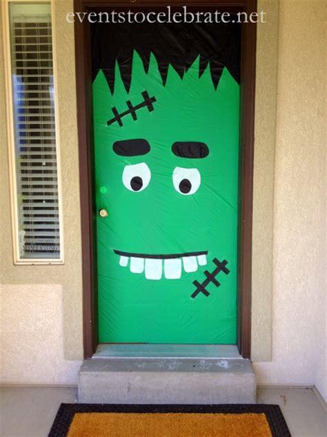 Frankenstein Door by Door Decoration Events To Celebrate