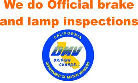 Lamp And Brake Inspection ozzy castro lake wood ca 90712