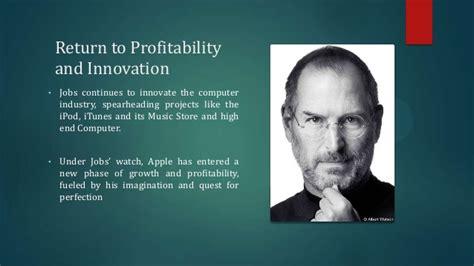 a short biography of steve jobs steve jobs visionary leader