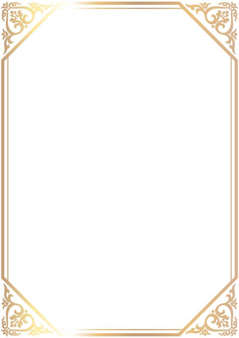 transparent background invitations announcements zazzle border frame png clip art gallery yopriceville high