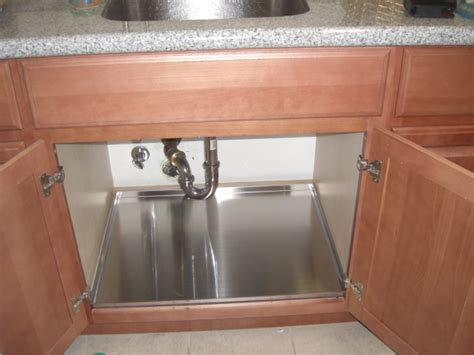 kitchen sink cabinet tray under the sink trays san francisco by dawn kitchen