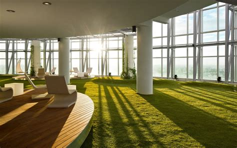 Garden Room Archdaily Indoor Gardens To Make Your Employees Happier