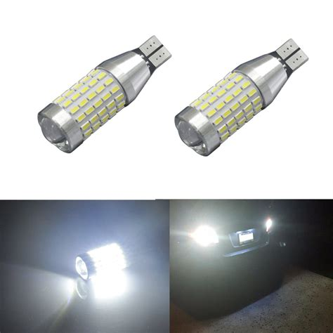 Jdm Astar 2x90 Ex Smd 921 912 6000k White Back Up Reverse Led Backup Light Bulbs