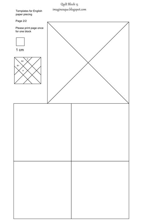 quilt cutting templates imaginesque quilt block 15 templates for epp fabric