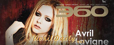 Avril Lavigne Does Day Magazine by Avril Lavigne 360 Magazine Fall Winter 2013 Gotceleb