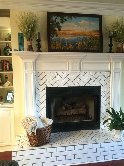 tile fireplaces on fireplaces jl best 25 subway tile fireplace ideas only on