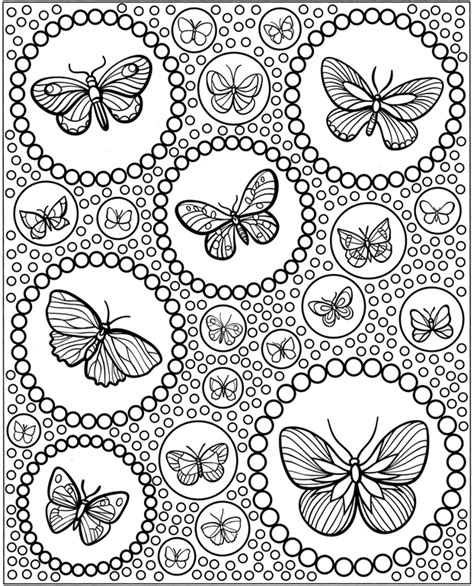 butterfly doodle coloring pages inkspired musings butterflies