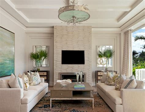 beach style living room coastal contemporary beach style living room miami by ficarra design associates inc