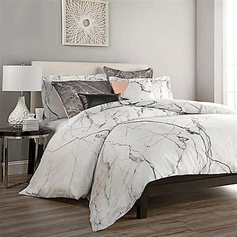 carrara duvet cover set bed bath beyond