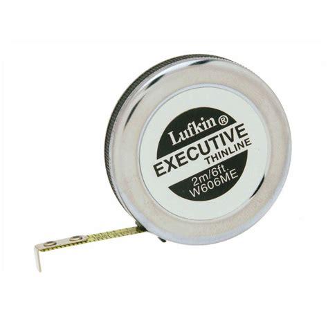 lufkin 6 ft executive thinline pocket measure w606me