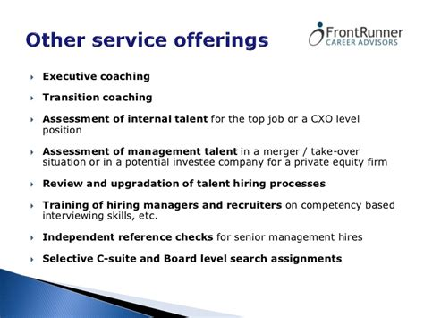 Equity Career Primer By Mba Career Coaches by Frontrunner Career Coach Presentation
