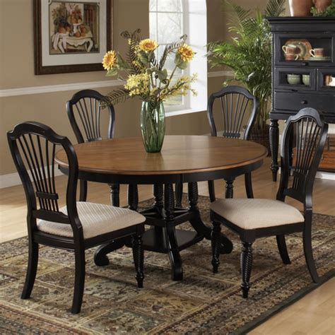 Oval Dining Room Table Sets by Wilshire Wood Oval Dining Table Chairs In Pine