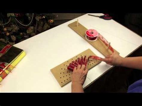 bow maker instruction large pro bow  ribbon youtube
