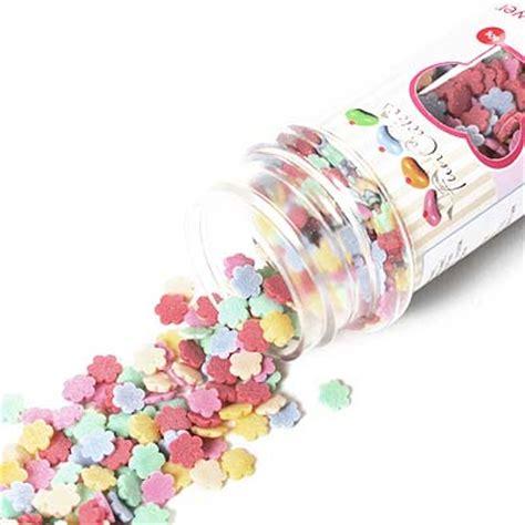 decorar tartas con virutas confeti flores azucar comestible tienda online reposteria