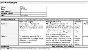 Education Plan Template by Individual Education Plan Template Sle Mash Ie