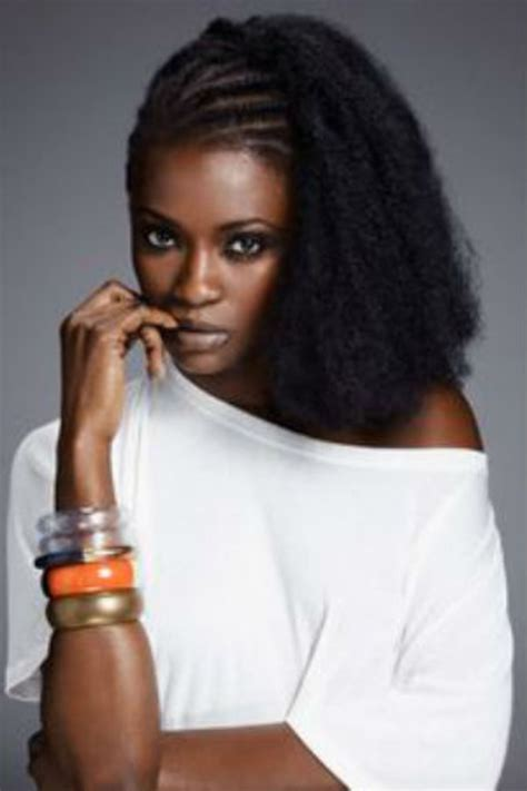 Model Des Cheveux Africain