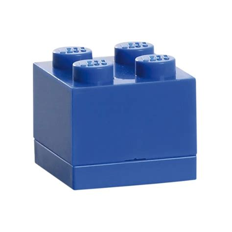 Lego Mini Box lego mini storage box sealed 4 blue brick ebay