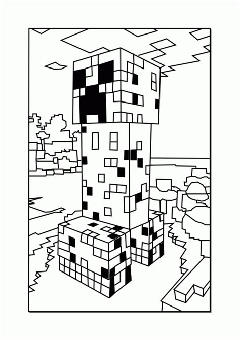 minecraft coloring pages printable printable minecraft coloring pages coloring home