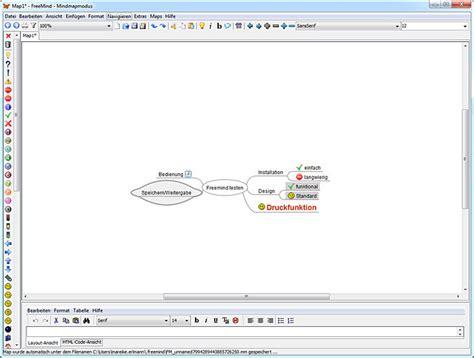 layout design software deutsch freemind download