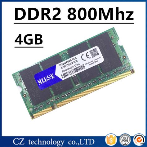 Ram Laptop Sodimm Ddr 2 2 Gb Pc 6400 sodimm ddr2 8go 800mhz