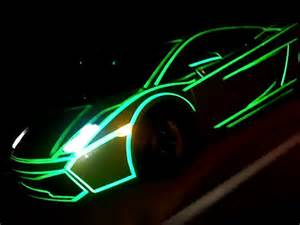 photos of tron lamborghinis that glow in the dark thechive