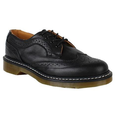 dr martens mens boots clearance dr martens womens shoes 1461 wing tip black smooth