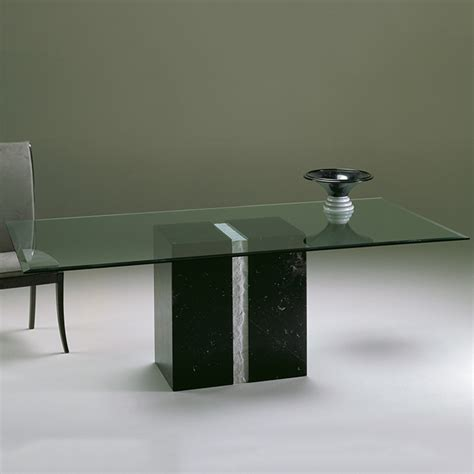 Marble And Glass Dining Table Artina Marble And Glass Rectangular Dining Table Robson Furniture