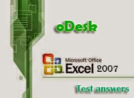 odesktestsguide how to pass elance excel 2007 test viral tech blog odesk ms excel 2007 test answers 100 correct