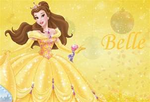 disney princess belle character wallpaper