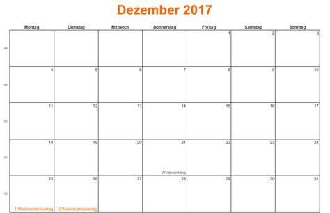 Kalender Dezember Kalender Dezember 2017 Zum Ausdrucken Kalender 2016 Pdf