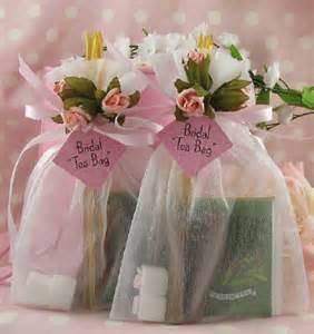 Bridal Tea Favors tea bridal shower