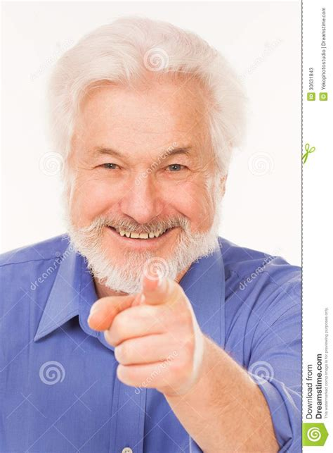3d Plan by Happy Elderly Man With Beard Stock Photos Image 30631843
