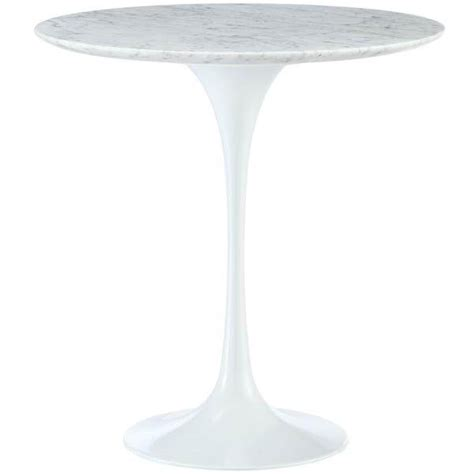 Marble Tulip Table by Marble Tulip Side Table Modern Furniture Brickell