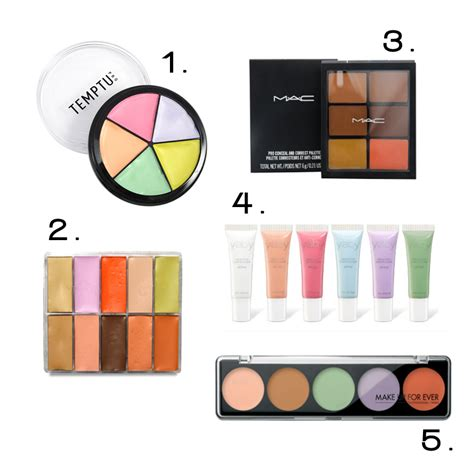 what is color correction a makeup artist s guide to color correcting