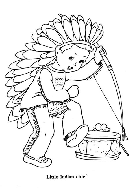 indian chief coloring page indian coloring pages best coloring pages for kids