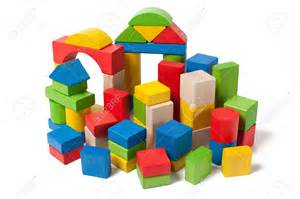Red Kitchen Design Ideas toy blocks