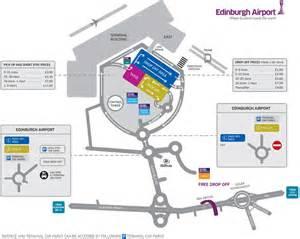 Car Rental Edinburgh Airport Enterprise Car Park Map Edinburgh Airport