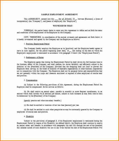 9 Salary Contract Template Simple Salary Slip Wage Agreement Template